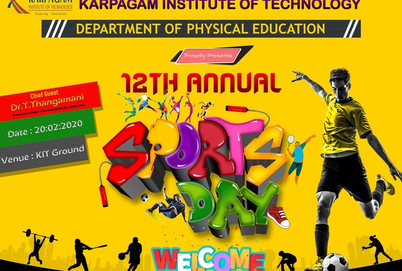 12th Annual - Karpagam Institute of Technology (KIT)