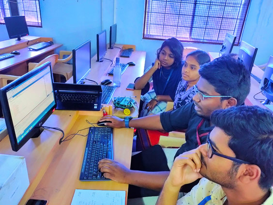 Computer Labs - Engineering colleges in Coimbatore