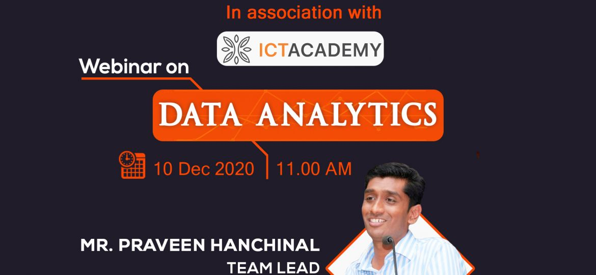Karpagam Institute of Technology - Webinar on Data Analytics