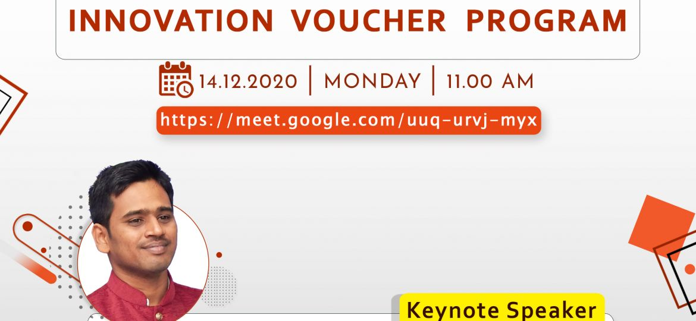 Karpagam Institute of Technology - Workshop on Innovation Voucher Program